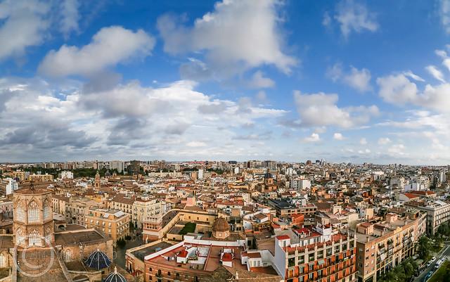 Valencia Skyline Panorama