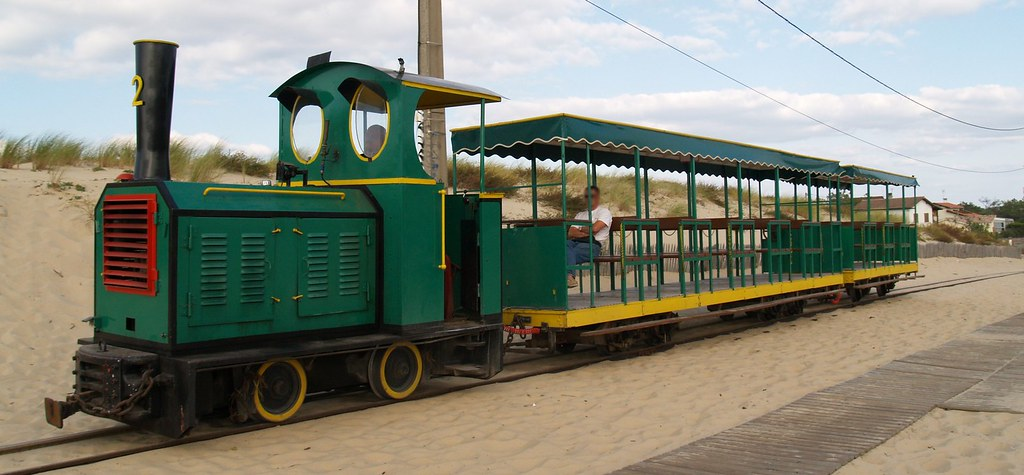 Train Touristique De Lege Cap Ferret Gironde Petit Train Flickr