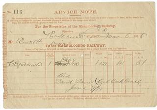 Maenclochog Railway Advice Note 1878 | by ian.dinmore