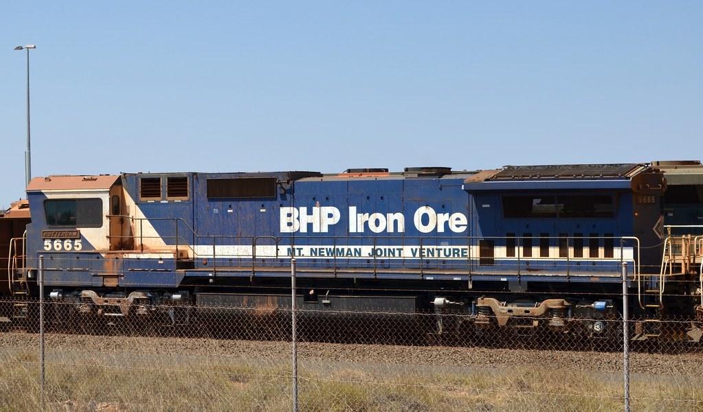 BHP BILLITON RAIL | ONE OF THE OLD LADIES OF THE FLEET 5665