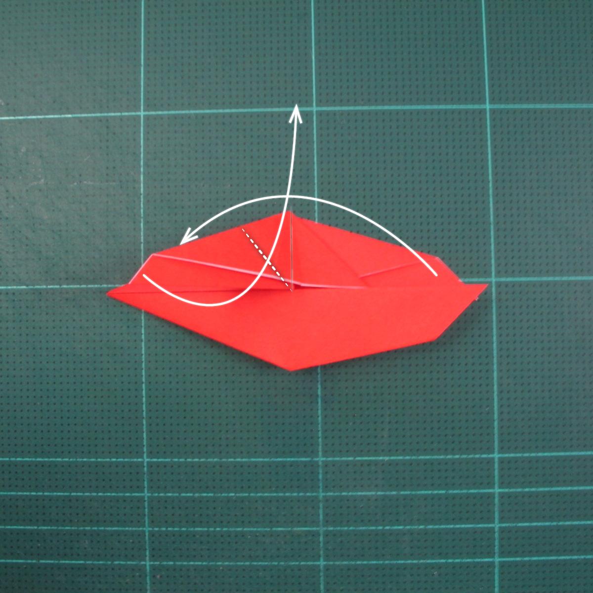 วิธีพับกระดาษเป็นรูปแมลงปอ (Origami Dragonfly) 012