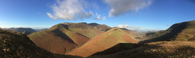 Lake District Fells, taken with iPhone.