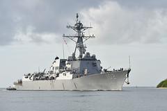 USS Sampson (DDG 102) file photo. (U.S. Navy/PO3 Johans Chavarro)