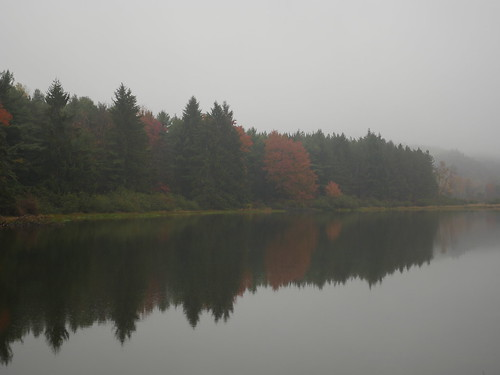 Photo of lake at New Germany State Park