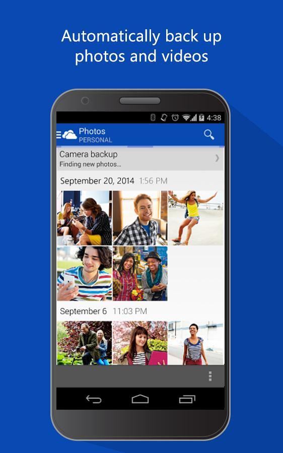 OneDrive Android   Wersja OneDrive przeznaczona na smartfony