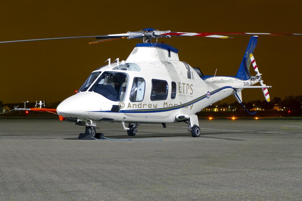 ETPS A109 at Northolt Nightshoot XVII.