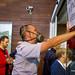 25_10_2014 Protesta de sanidad en la inauguración de nuevo edificio de Urgencias de Bellvitge