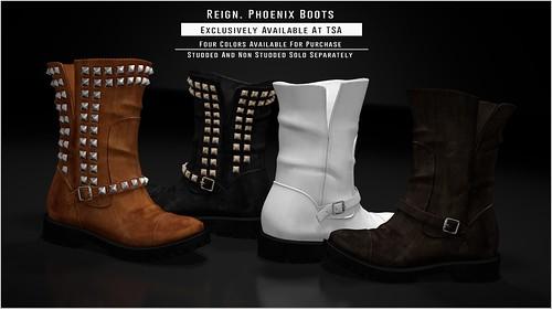 REIGN.- PHOENIX BOOTS!