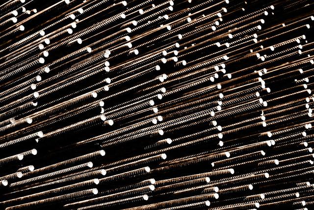 Spaghetti made of steel