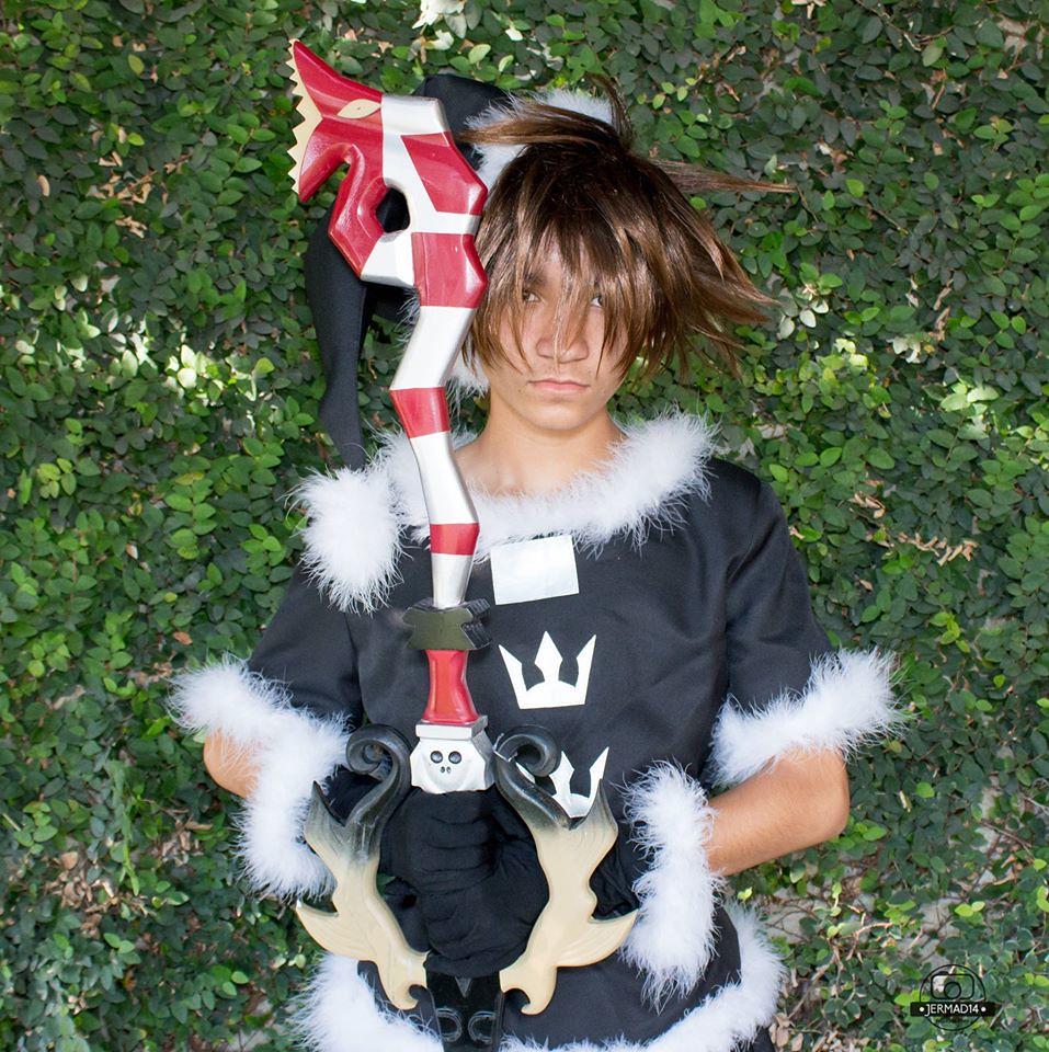 Sora Christmas Town Cosplay.Christmastown Sora Cosplay Christmas Town Sora Cosplay