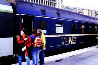 Paris (France), Gare du Nord, 25 Oct 1996