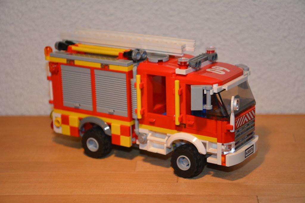 Lego City 4x4 Fire Engine 09, Fire Service Israel, Tel Avi ...