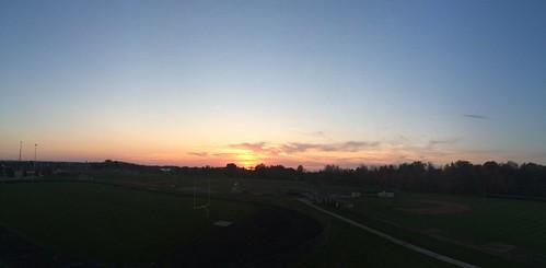 sunset sky moon night clouds sunrise stitch howardtj
