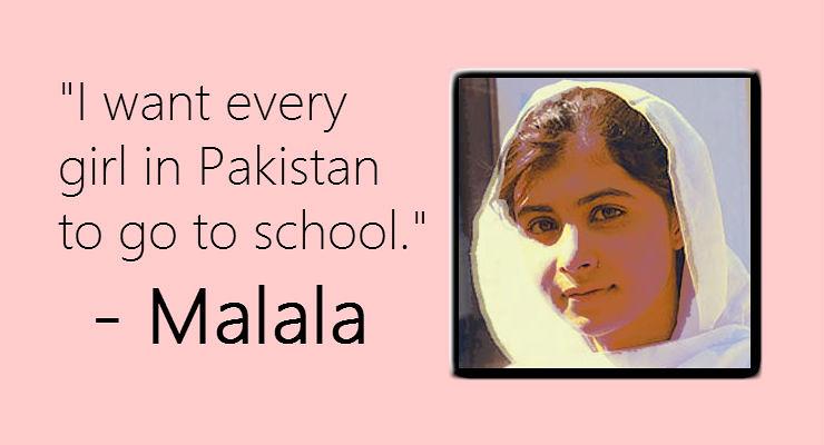 Malala Yousafzai Wins Nobel Peace Prize | Find the image at