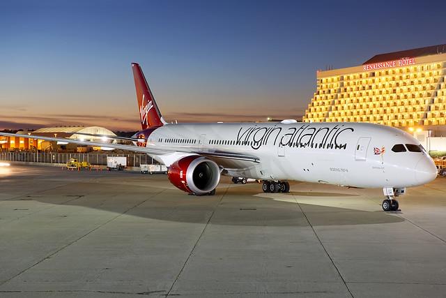 G-VNEW - Boeing 787-9 - Virgin Atlantic - KATL 24 Oct 2014