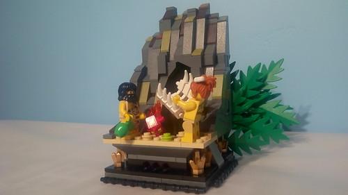 Lego Cave Folk