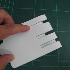 การทำการ์ดอวยพรลายต้นคริสต์มาสแบบป็อปอัป (Card Making Christmas Trees Pop-Up Card Template) 006