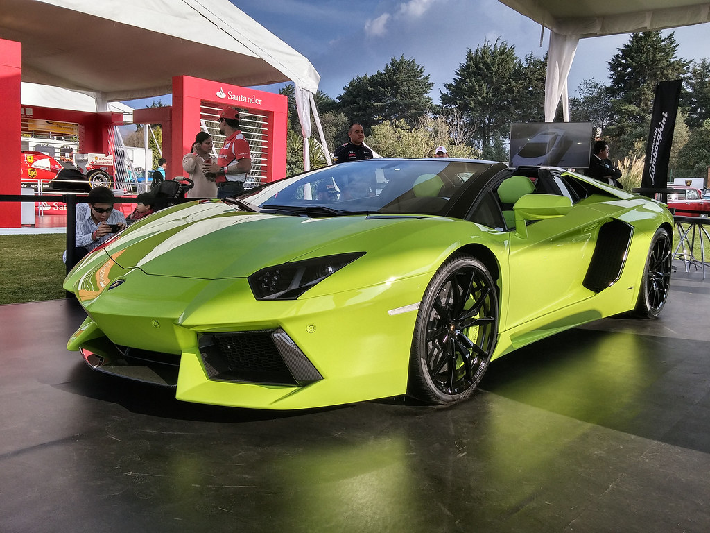 Lamborghini Aventador Roadster Gala Internacional Del Auto Flickr