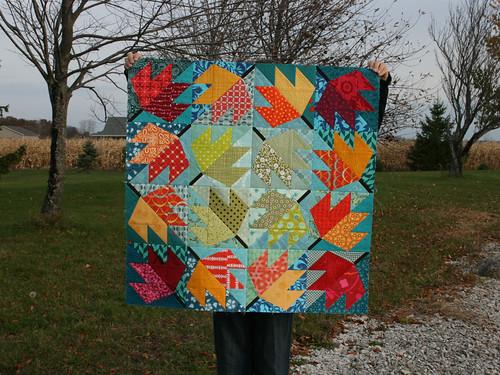 Leaf Quilt 1