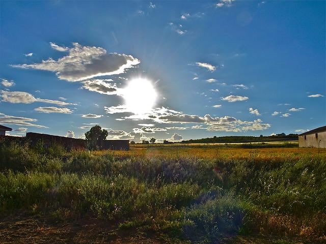 Un pueblecito pequeño que se llama Pozo Amargo... en La Mancha.