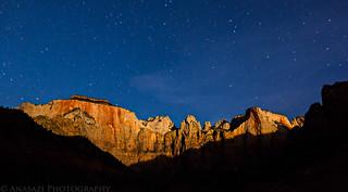 Moonlit Towers of the Virgin | by IntrepidXJ