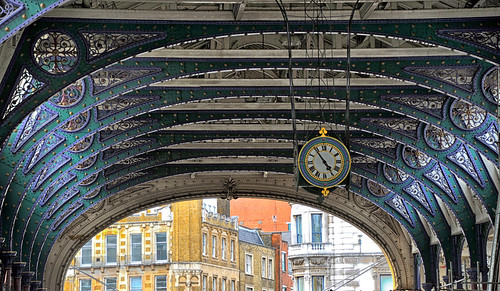 Victorian Clock at Smithfield Meat Market in London | by aagay
