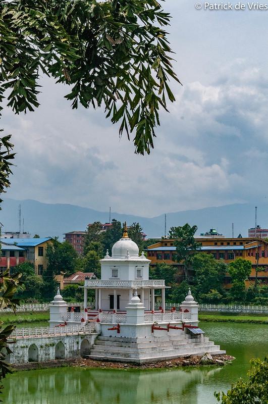 The Rani Pokhari in Kathmandu