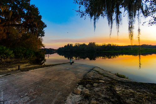 sunset florida goldenhour colors clouds serene nature landscape forest orangecity volusia stjohnriver frenchlanding