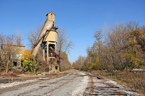 akron akronohio baltimoreohiorailroad abandonedrailroads akronjunction csxinakronohio railroadsofakronohio coalingtower