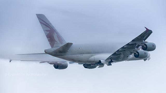 A7-APB | Airbus A380 | Qatar | London Heathrow | October 2016