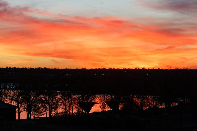 Sunrise Over Cherry Creek Reservoir