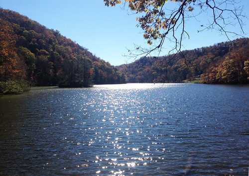 park blue lake mountains southwest fall nature water outside outdoors virginia state mother foliage ridge va hungry appalachia