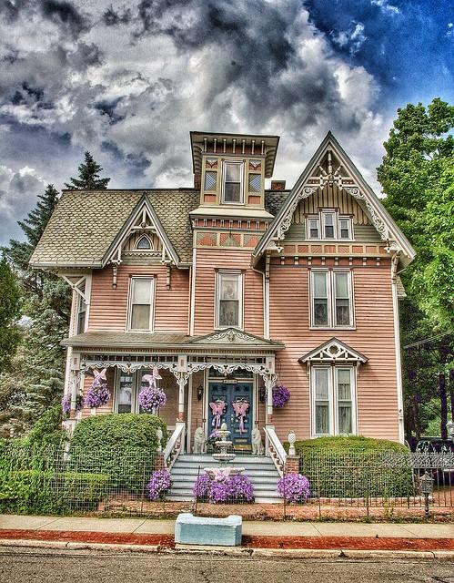 Binghamton Ny ~ Historical House ~  Italianate House Style