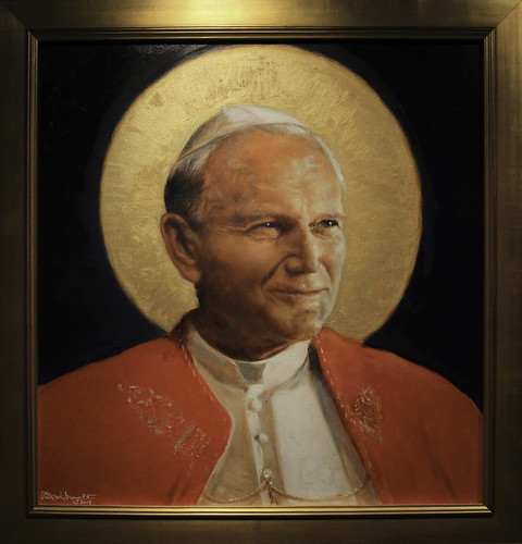 Pope Saint John Paul II | by Lawrence OP