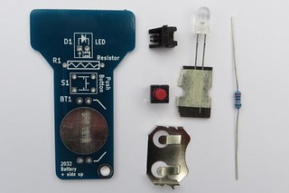 Check that all the parts were included with the kit | by Low Voltage Labs