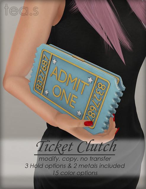 Ticket Clutch AD
