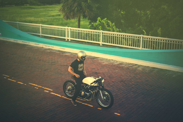 Каферейсер Honda CB500 от Kinetic Motorcycles - Мотобратва