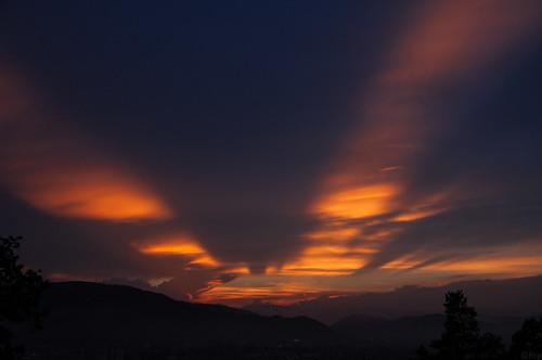 sunset austria österreich graz steiermark autriche styria schlosberg cloudsstormssunsetssunrises