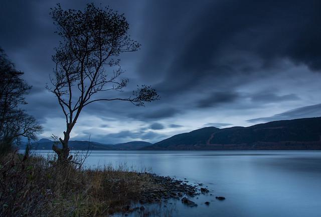 Blue Hour Loch..