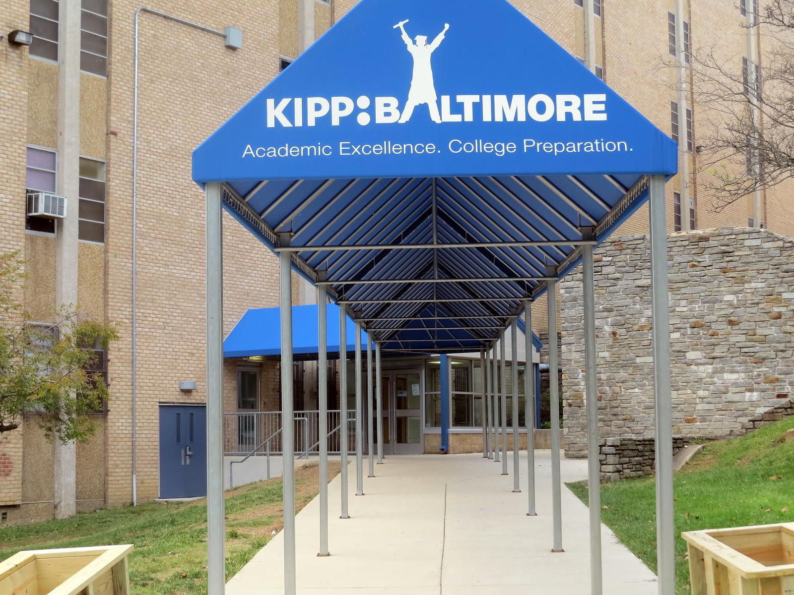 Entrance-Awning-Baltimore Kipp Baltimore