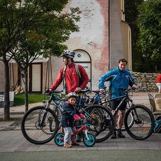 Cyclists - Banská Bystrica - © M. Dubovský, Občianska Cykloiniciatíva
