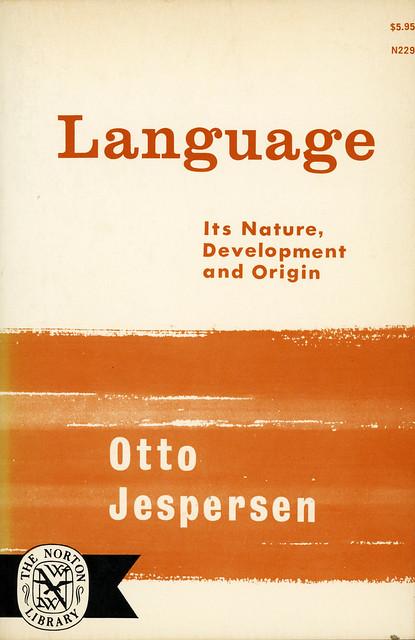 Norton Books N229 - Otto Jespersen - Language