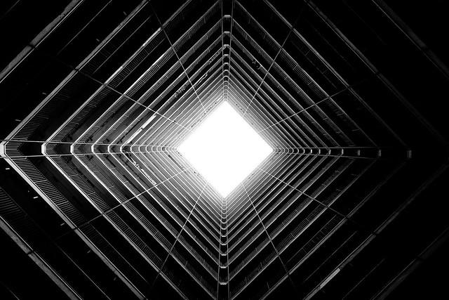 Oi Man Estate in black and white