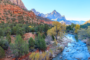 Zion NP - Virgin River | by aparlette