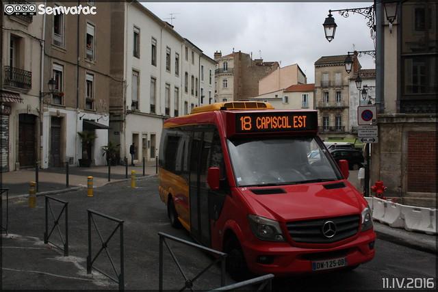 Mercedes-Benz Sprinter - Transdev Urbain / Béziers Méditerranée Transports n°82