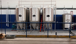 Five fermenters and a bright tank | by Thomas Cizauskas