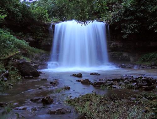 nature creek landscape waterfall stream pennsylvania valley fayettecounty dunbartownship oppossumrun