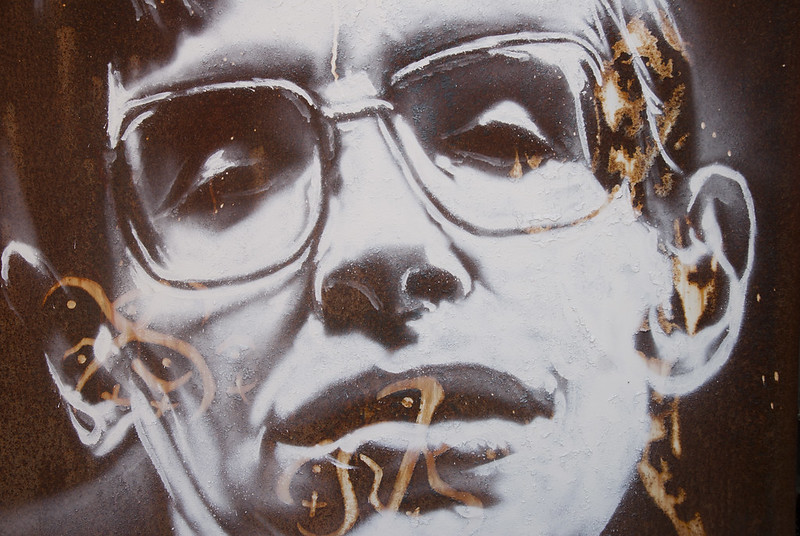 Stephen Hawking, painted portrait _DDC2386