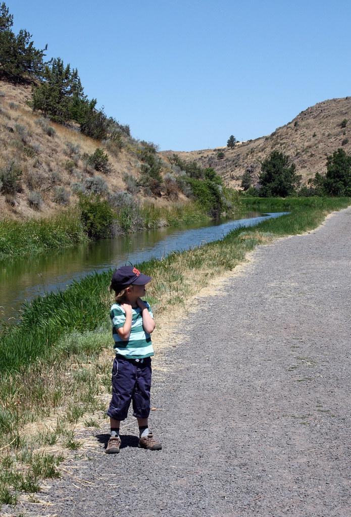 Link River Nature Trail, Klamath Falls Oregon.  July 18 2015.
