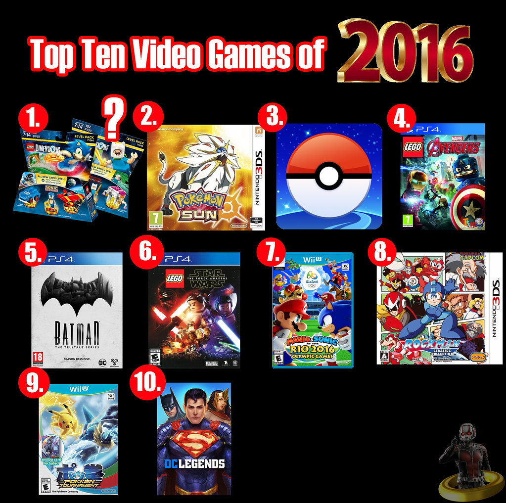 Top Ten Video Games of 2016